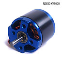 N2830 KV1000 Brushless Motor For RC Model