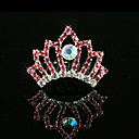 Gorgeous Alloy With Rhinestone Flower Girl Tiaras