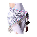 Performance Dancewear Cotton with Tassels and Crystal Belly Dance Belt For Ladies More Colors