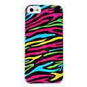 Colorful Zebra-Stripe Pattern Detachable Hard Case for iPhone 5