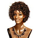 Capless Short Top Grade Synthetic Curly Wig