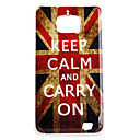 Retro British National Flag Pattern Hard Case für Samsung Galaxy S2 I9100