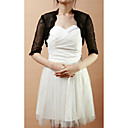Half-Sleeve Lace &amp; Net Wedding/Evening Jacket/Wrap (More Colors)