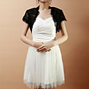 Elegant Short Sleeve Lace Wedding/Evening Jacket/Wrap (More Colors)