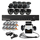 8 CH DVR Home Security Surveillance Camera System(4 Indoor and 4 Outdoor Night Vision camera)