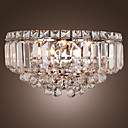 Luxuriant Crystal Wall Lights with 3 Lights (G9 Bulb Base)