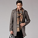 Men's Wind Coat(Brown)