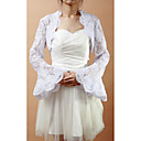 Exquisite Long Bell Sleeve Lace Wedding/Evening Jacket/Wrap (More Colors)