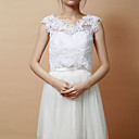 Elegant Sleeveless Lace Special Occasion Jacket/ Wedding Wrap (More Colors)