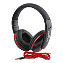 Bass Over-Ear Headphones with Remote and Mic S-9