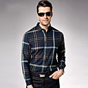 mannen casual lange mouw losse shirt