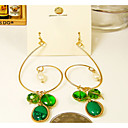 Women's Pearl Gem Earrings