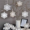 Nice Snowflake Tag - Set of 12 (Ribbon Not Included)