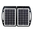 35W Portable Solar Charger for Automobile Storage Battery