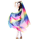 Performance Dancewear Colorful Silk Veils for Ladies