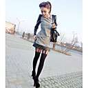 Women's Sexy Slim Lace Straps Fleece Pantyhose