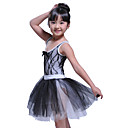 Performance Dancewear Tank Leotard With Tutu Ballet Dress for Kids