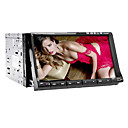 7 Inch 2 Din touchscreen auto DVD speler met GPS, TV, Bluetooth, RDS