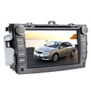 8 polegadas de DVD do carro para Toyota Corolla (2007-2011) com GPS, Bluetooth, iPod, TV