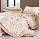 Fabulous Beige Full / Queen 4-Piece Duvet Cover Set