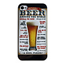 Beer Style Protective Back Case for iPhone 4/4S