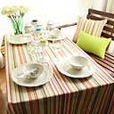 Classic Stripe Cotton Table Cloths