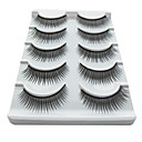 5 Pair Black Fiber eyelash False Eyelashes (5-021)
