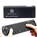MK808B Bluetooth Android 4,1 Jelly Bean Mini PC RK3066 A9 Dual Core Dongle TV Stick 1pc MK808 Aggiornato 1 pcAir mouse tastiera RC12