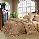 Corey Jacquard Full / Queen 4-Piece Duvet Cover Set