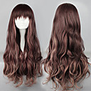 Lolita Wave Wig Inspired by Zipper Brown Mixed Color 75cm Sweet