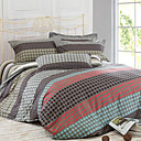 Basil Print Full 4-Piece Duvet Cover Set
