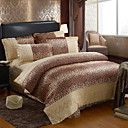 Larry Print Full 4-Piece Duvet Cover Set