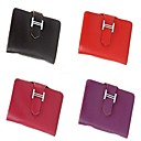 Women's Genuine Leather Simple Card Bag(11*1.5*8cm)