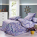 4pcs isaac impression couette ensemble complet de couverture