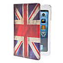 Retro Style The Union Jack Pattern Durable PU Leather Case with Stand for iPad mini