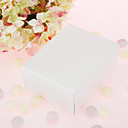 Ivory Cuboid Favor Box (Set von 12)