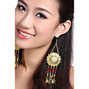 Performance Dancewear Alloy with Tassels Belly Dance Earrings For Ladies(A Pair)