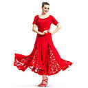 Dancewear Viscose/Lace Ballroom Modern Dance Dress For Ladies More Colors