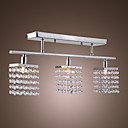 CHELAN - Lustre Geomtrico Cristal com 3 Lmpadas