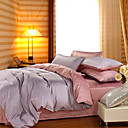 4PCS Sylvia Double Face Cotton Duvet Cover Set