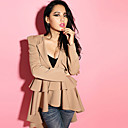 Gelaagde Ruffled Dames Blazer