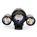 GOREAD Three XML-T6 LED High Power Charge Bicycle Headlight(1800LM) S250005