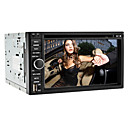6.2 polegadas 2Din carro DVD Player com GPS, RDS, iPod