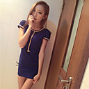 Women's Backless Studded Mini Dress
