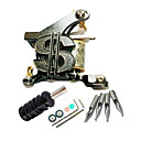 Cast Iron 10 Wraps Tattoo Machine Gun for Liner and Shader