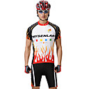 MYSENLAN PN Mesh + Flex materiales cmodos trajes de manga corta ciclismo Hombres