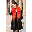 Fox Fur Turndown Collar Rabbit Fur Casual/Party Vest (More Colors)