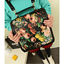 Women's Lovely Euramerican Flower PU Bag