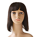 Capless 100% Indian Remy Short Straight Hair Wigs Multiple Colors Available