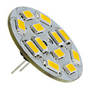 G4 6W 550-570LM 2700-3000K Warm Wit Licht Verticale Pin LED Spot lamp (12V)